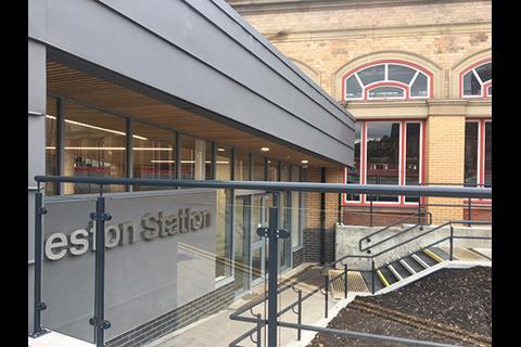 Preston Railway Station entrance 2